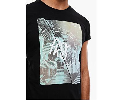Herren T-Shirt 13.003.32.4738.9999 Black