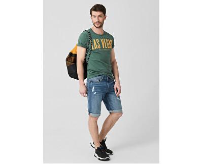 Pánske tričko 13.905.32.4536.6715 Metal Green