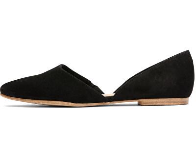 Női balerina cipő  Black-5-5-24200-24-001