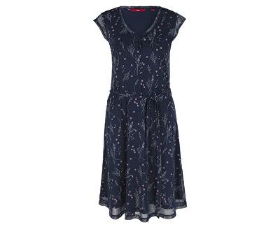 Dámske šaty 05.906.82.3908.59B4 Navy Aop Flower
