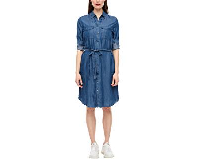 Damen Kleid 14.003.82.3162.56Y2 denim non stripes