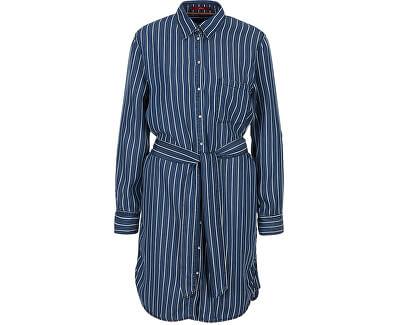 Damenkleid 14.003.82.4038.57G0 Stoker blue