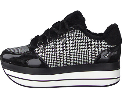 Dámske tenisky Black Checker 5-5-23603-23-035