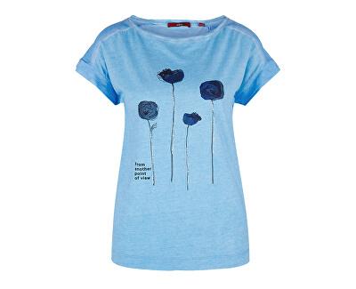 Női póló 14.904.32.4410.55D1 Bleu elhelyezett Print