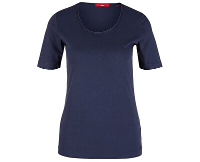 Dámske tričko 14.906.32.2796.5835 Dark Blue