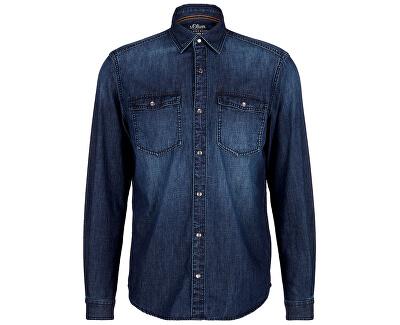 Pánska košeľa 13.909.21.2536.55Z4 Blue Denim Stretch