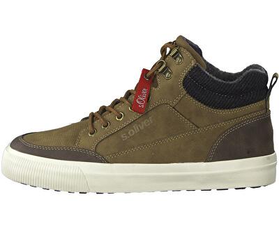Pánske členkové topánky Brown 5-5-15224-23-300