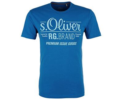s.Oliver Pánské tričko 03.899.32.4501.5545 Royal Blue