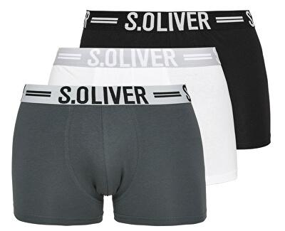 Sada pánských boxerek 26.899.97.4229.12B9 Black&Grey&White