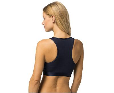Női sport melltartó Sheer Flex Cotton Bralette UW0UW00012-416 Navy Blazer