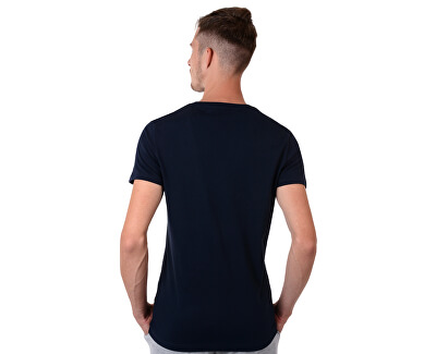 Pánske tričko Cotton Icon SS Tee Logo Navy Blazer UM0UM00054-416