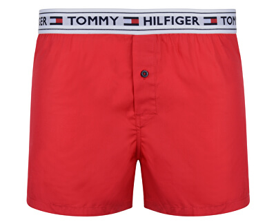 Tommy Hilfiger Boxerky Woven Boxer Tango Red UM0UM00517-611