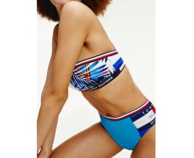 Női bikini felső   Palm Tropic - White Bandeau Fixed