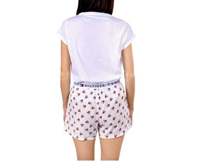 Frauenpyjamas Ss Short Set Woven Pvh Classic White
