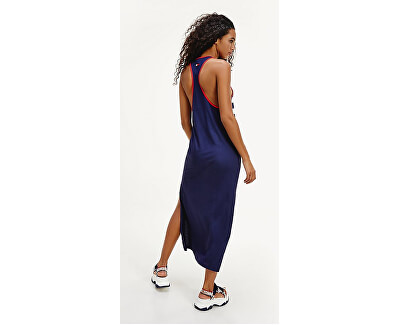 DamenkleidTank Dress Long Pitch Blue