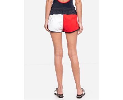 Frauenshorts Woven Shorts Red Glare