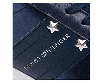 Dámske tenisky Tommy Essen tial leat Dark Blue FW0FW03688-406