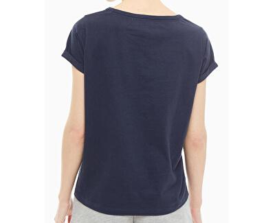 Dámske tričko Cn Tee Ss UW0UW01619-416 Navy Blazer
