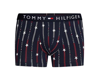 Férfi boxeralsóMu Del1 Starsandstripes Navy Blazer Trunk Print