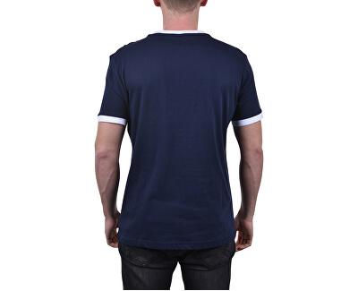 Pánske tričko Tommy Original Cn Ss Tee Logo Flag UM0UM01170-416 Navy Blazer