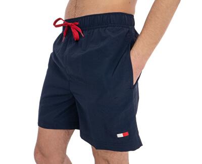 Plavkové kraťasy Slim Fit Medium Drawstring UM0UM01080-416 Navy Blazer
