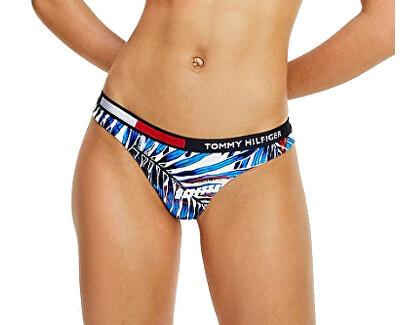 Damen Bademode Bikini Palm Tropic - White Brazilian