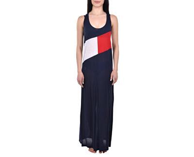 Dámské šaty Clb Tank Dress Navy Blazer UW0UW01525-416