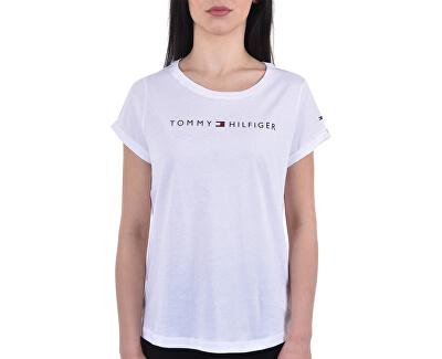 Női pólóTommy Original Rn Tee Ss Logo UW0UW01618-100 White