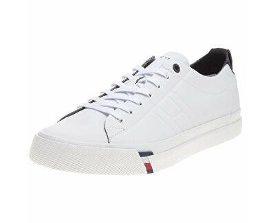 Pánské tenisky Corporate Clean Leat White FM0FM01214-100