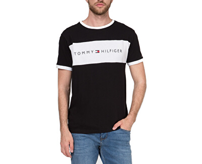 Pánske tričko Cn Ss Tee Logo Flag UM0UM01170-990 Black