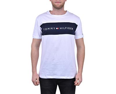 Pánské triko Tommy Original Cn Ss Tee Logo Flag UM0UM01170-100 White