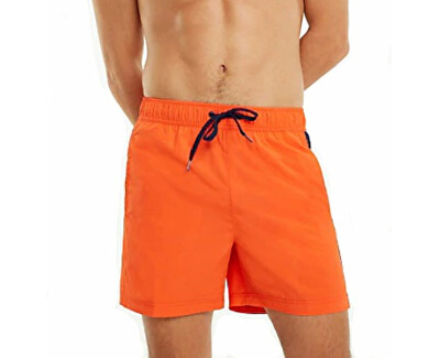 Plavkové kraťasy Slim Fit Medium Drawstring UM0UM01079-885 Spicy Orange