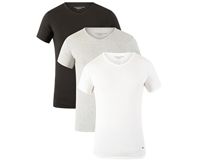Sada pánských trik Premium Essentials Vn Tee Ss 3 Pack 2S87903767-004 Black/Grey Heather/White
