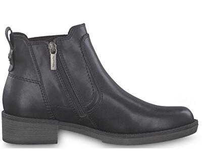 Dámske členkové topánky 1-1-25012-23-007 Black Uni