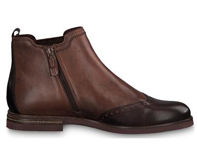 Dámské kotníkové boty 1-1-25027-23-448 Chestnut Comb