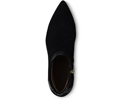 Dámske členkové topánky 1-1-25305-23-031 Blk / Leop.Comb