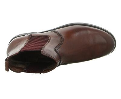 Dámske členkové topánky 1-1-25306-23-305 Cognac