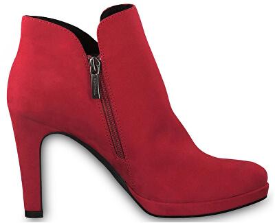 Dámske členkové topánky 1-1-25316-23-515 Lipstick