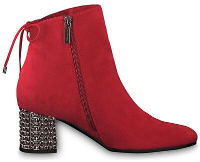 Dámské kotníkové boty 1-1-25318-23-515 Lipstick