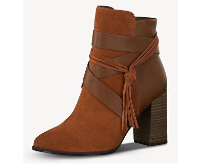 Dámske členkové topánky 1-1-25365-23-444 Rust