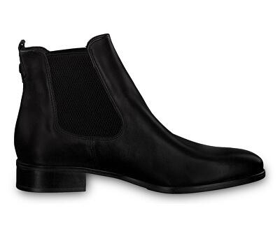 Dámske členkové topánky 1-1-25388-23-003 Black Leather