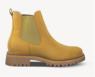 Dámske členkové topánky 1-1-25474-23 -627 Saffron