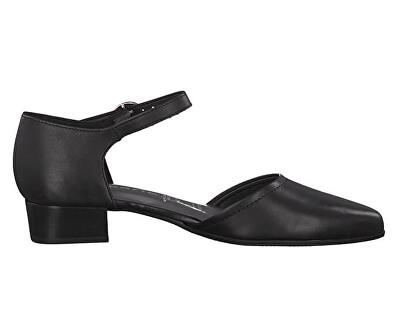 Dámské lodičky 1-1-24210-22-003 Black Leather