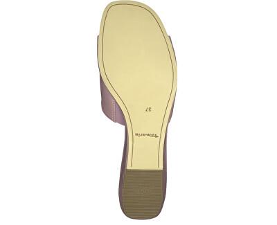 Dámské pantofle 1-1-27252-22-522 Mauve Patent