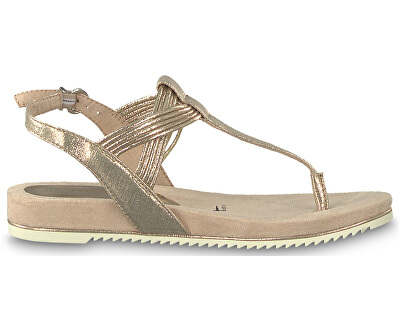 Dámské sandále 1-1-28107-22-952 Rose Metallic
