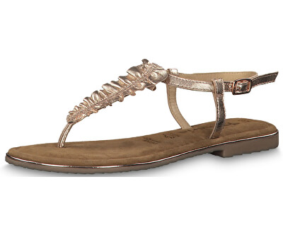 Dámske sandále 1-1-28143-22-952 Rose Metallic