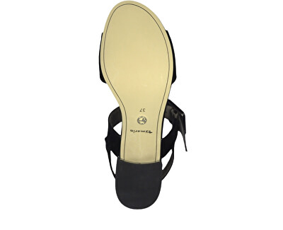 Dámské sandále 1-1-28211-22-018 Black Patent