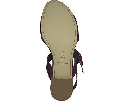 Sandale pentru femei 1-1-28211-24-640 Cranberry Comb