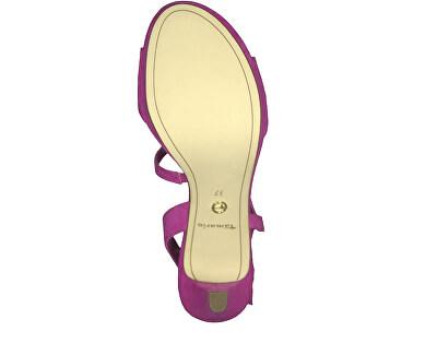 Dámské sandále 1-1-28318-22-513 Fuxia