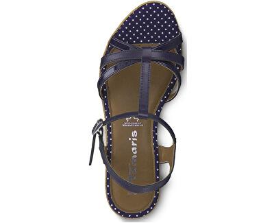 Dámské sandále 1-1-28347-22-891 Navy/Dots